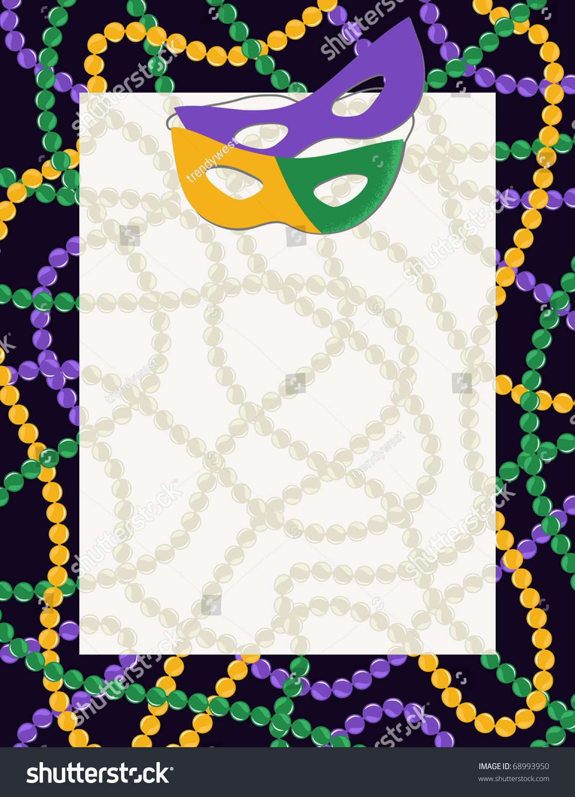 illustration photos gras stock vector of mardi beads carnival