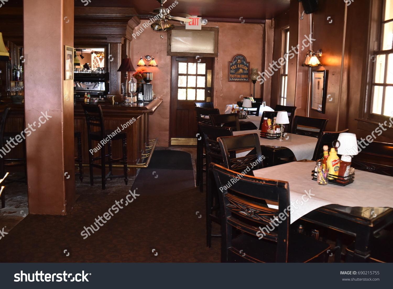 Jerome Grand Hotel Asylum Restaurant Jerome Stock Photo Edit Now 690215755