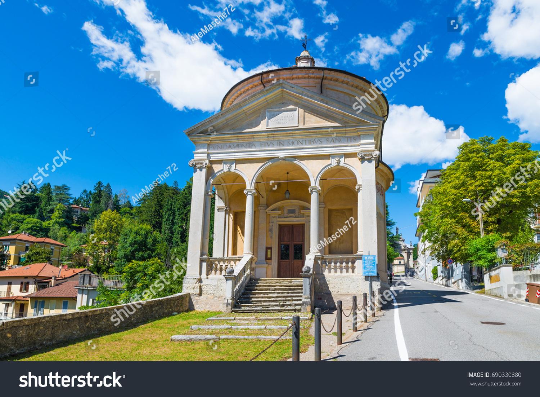 Sacro Monte Varese Santa Maria Del Stock Photo (Safe to Use ...