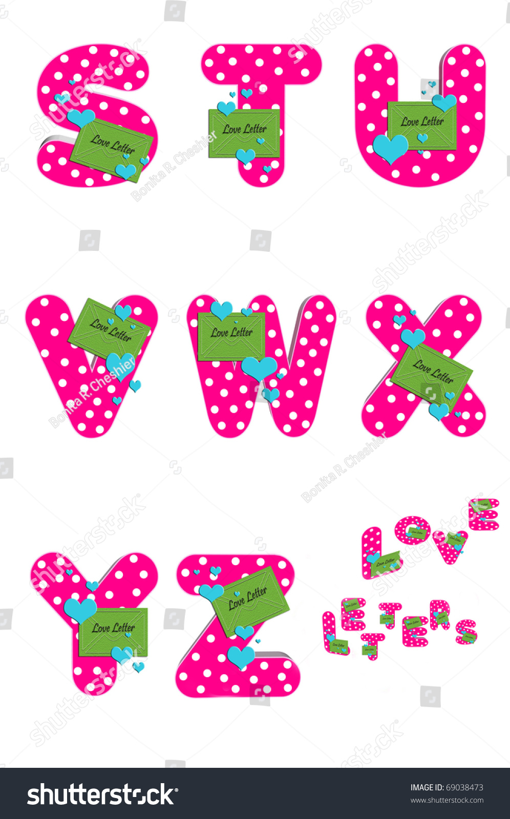 Love Words For Each Letter Of The Alphabet from image.shutterstock.com