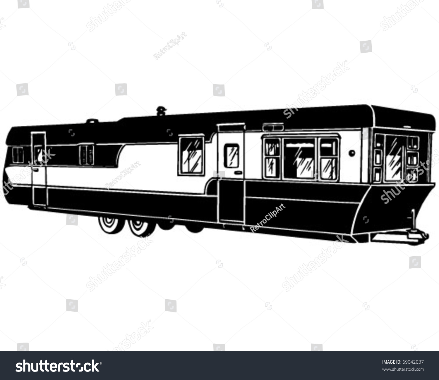 clipart mobile home - photo #12