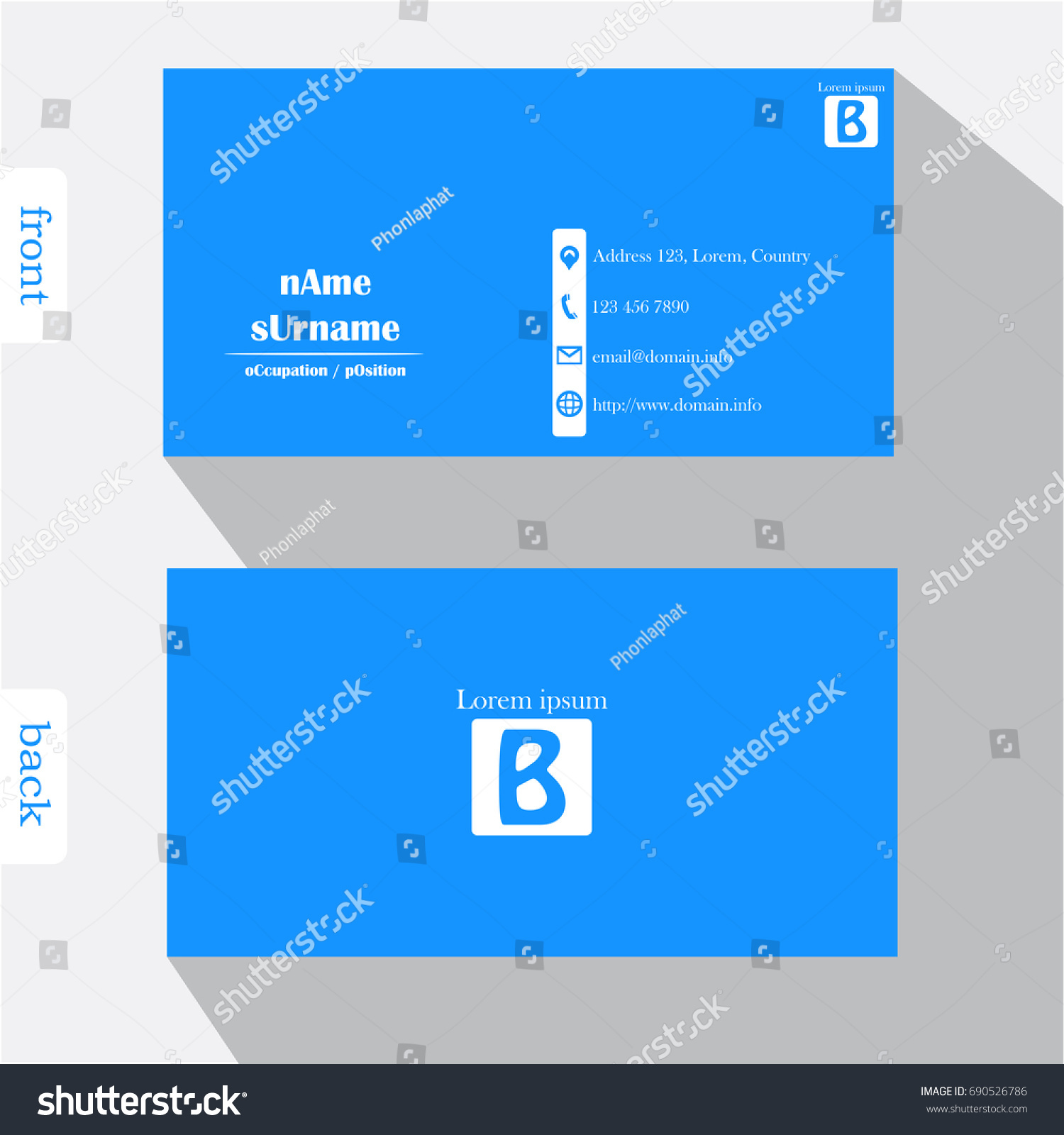 Electronic Business Card Templates Choice Image - Templates ...