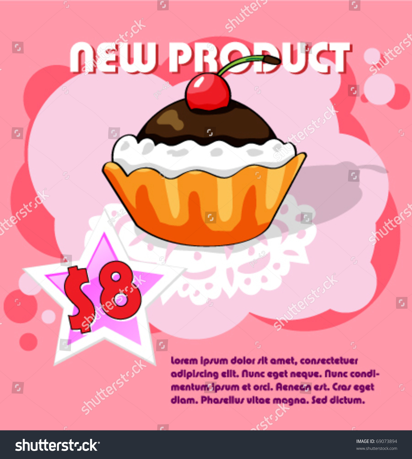 product poster shop design card stock vector  product poster for shop design card offers price vector