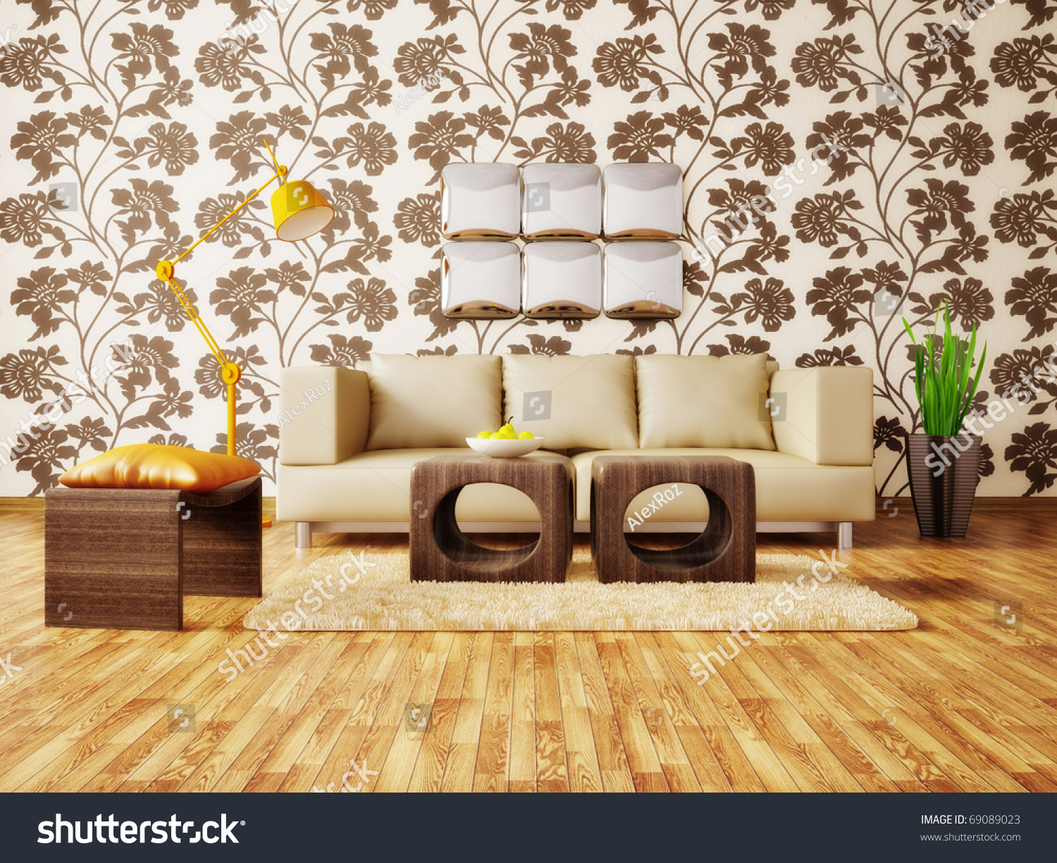 Modern interior room with nice furniture inside stock photo 69089023 shutterstock - Nice interior pic ...