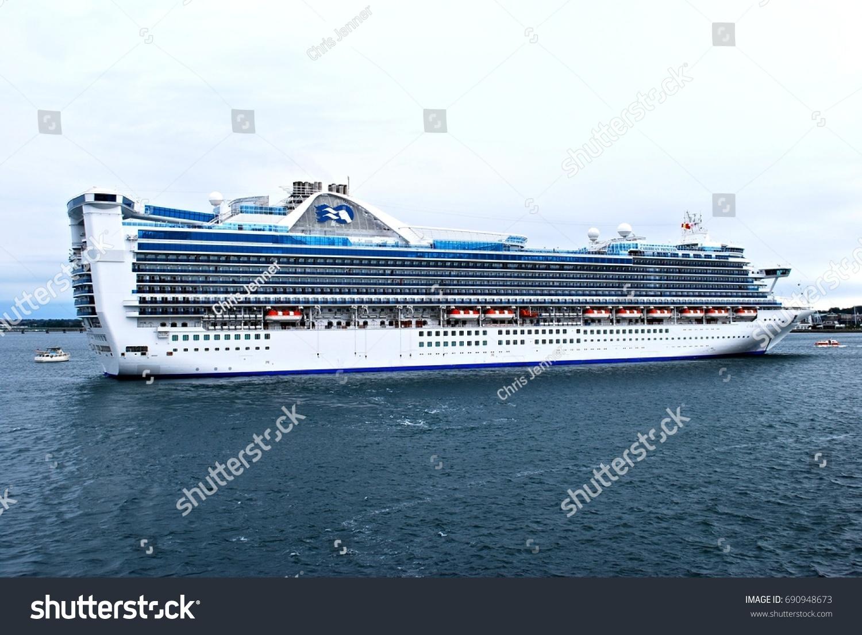 NEW YORK MAY 4 MS Caribbean Stock Photo Royalty Free 690948673
