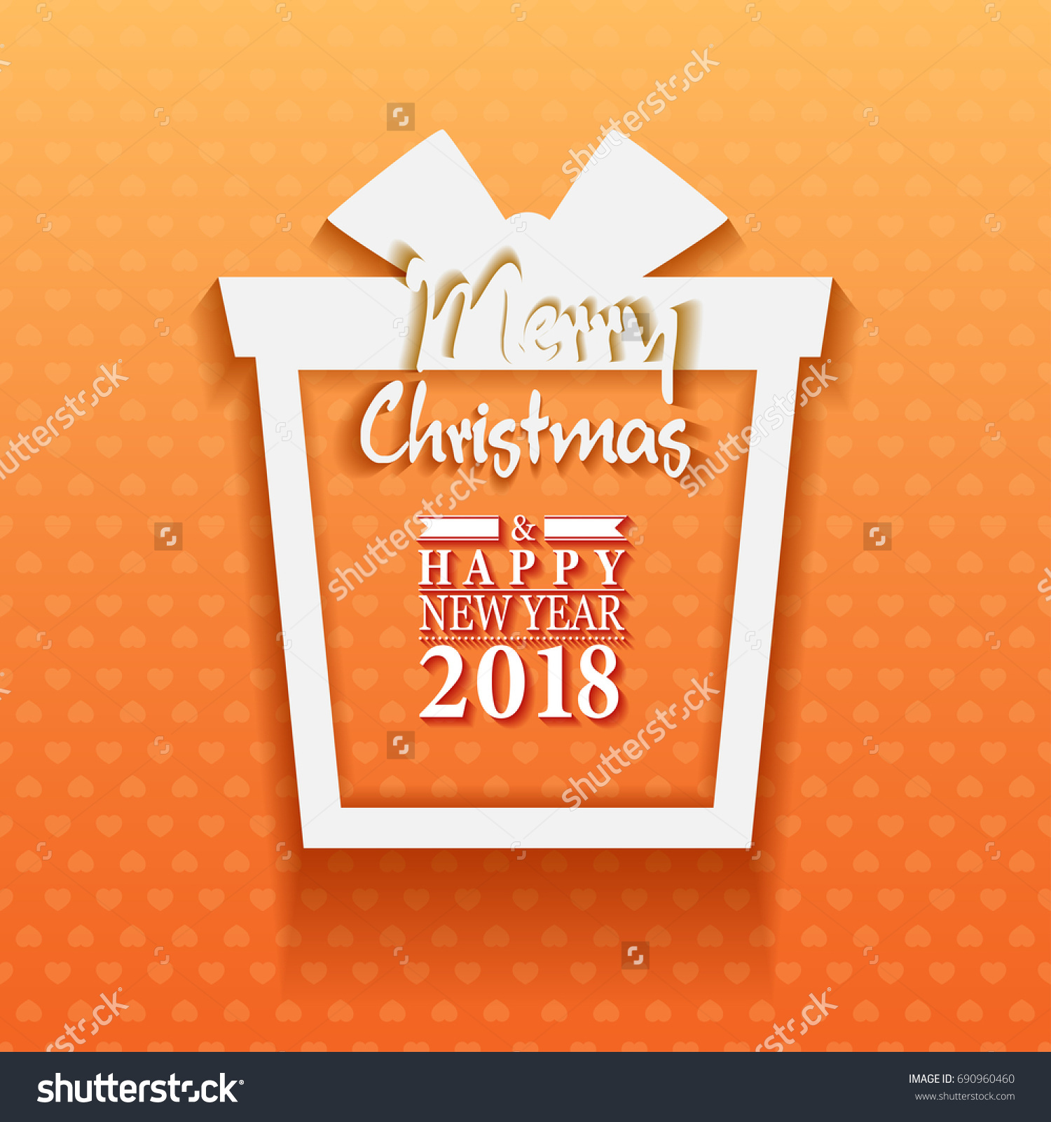2018 happy new year merry christmas stock vector 2018 690960460 2018 happy new year and merry christmas gift greeting card and background with boxes with gifts m4hsunfo