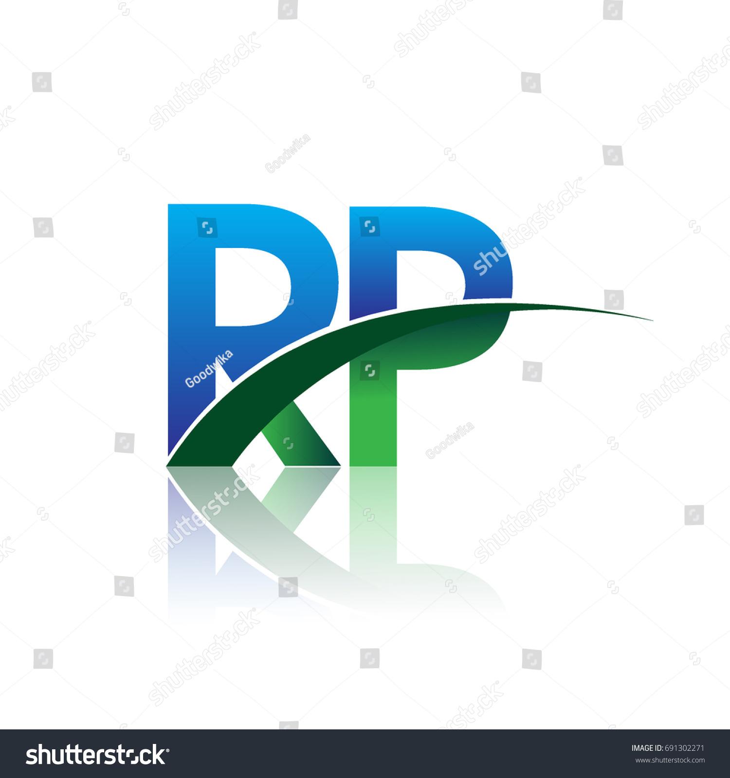 initial letter rp logotype company name stock vector 691302271 rh shutterstock com