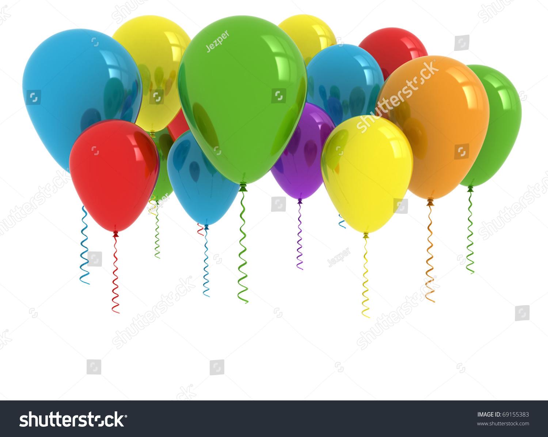 balloons white background - photo #48