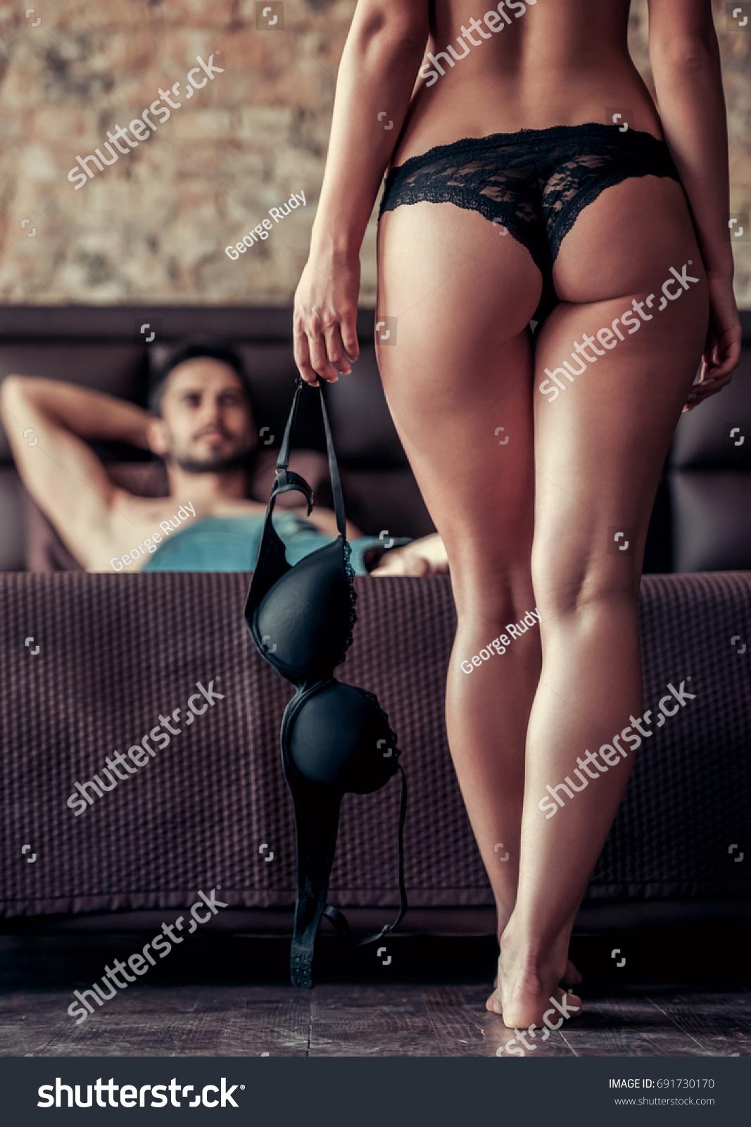 Women in panties having sex