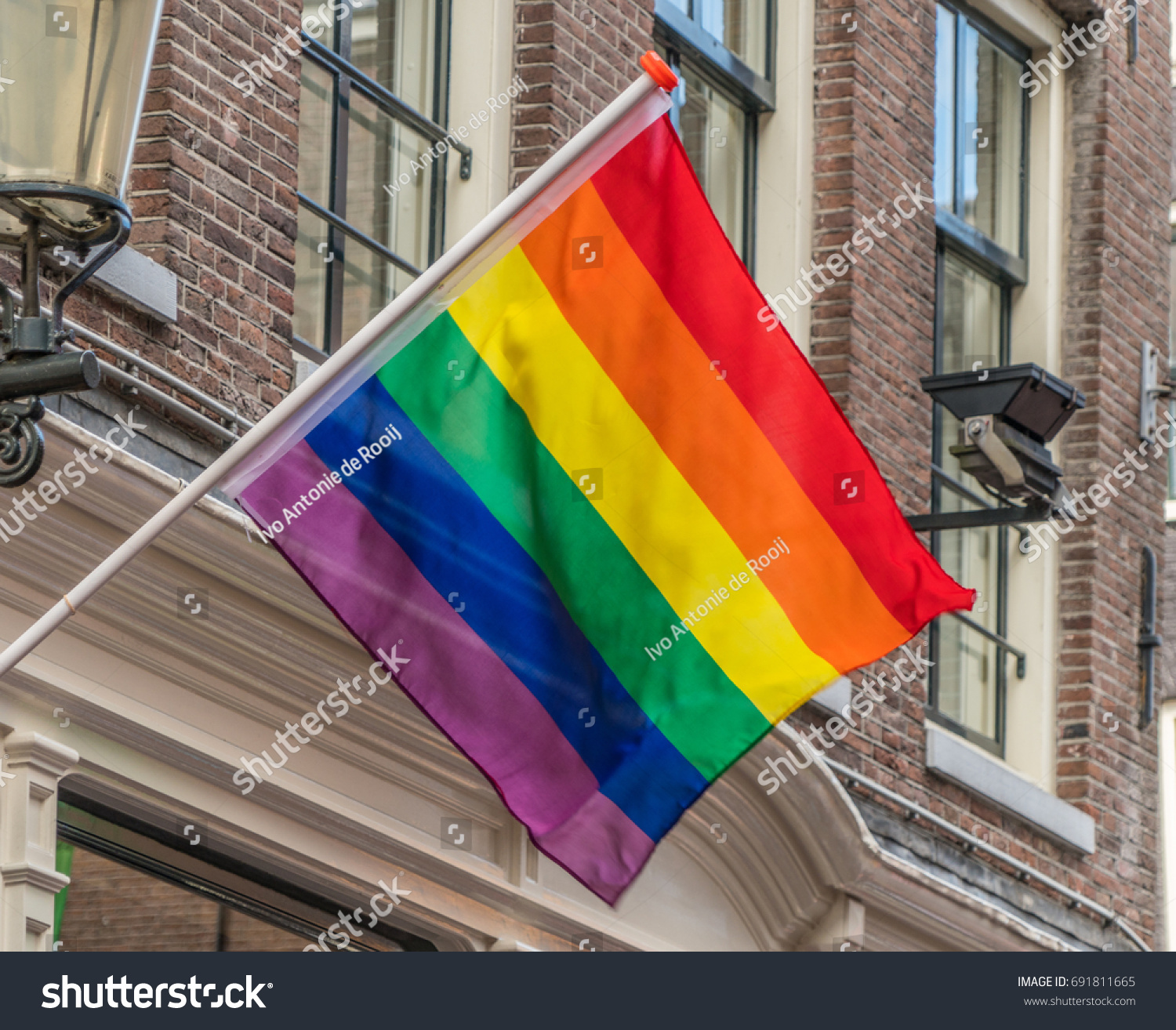 Rainbow flag symbol equal rights all stock photo 691811665 rainbow flag the symbol of equal rights for all genders representing lgbt pride buycottarizona Image collections