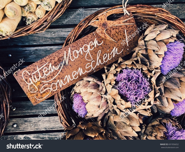 Guten Morgen Sonnenschein Stock Photo Edit Now 691956652