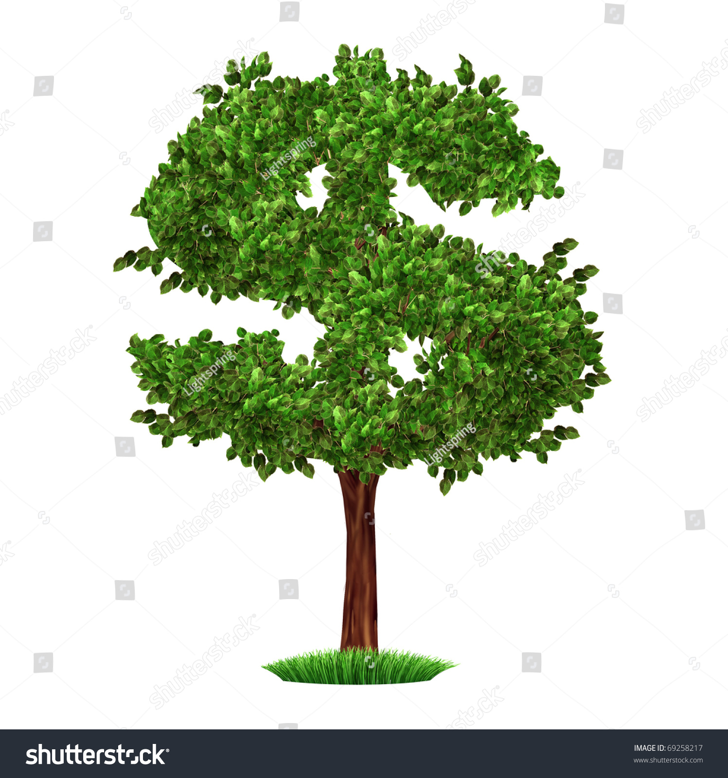Finance Tree: Money Tree Investment Growth Income Interest Stock
