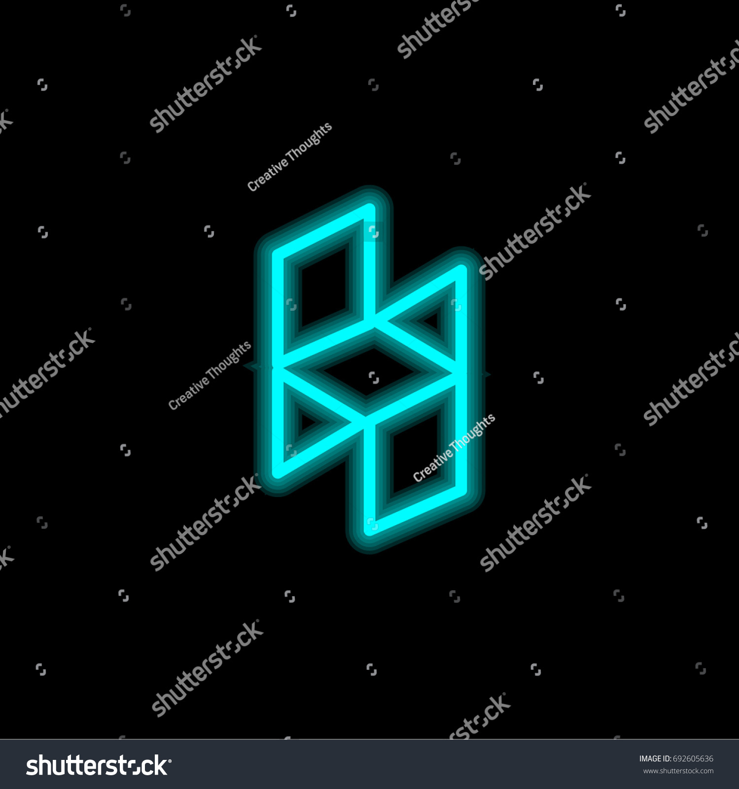 Houzz blue glowing neon ui ux stock vector 692605636 shutterstock houzz blue glowing neon ui ux icon glowing sign logo vector biocorpaavc Image collections