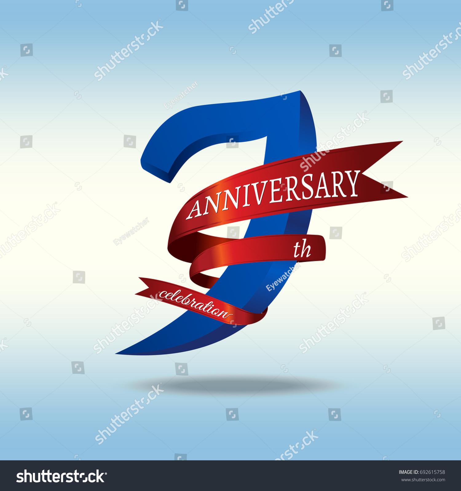 7th anniversary symbol vector stock vector 692615758 shutterstock 7th anniversary symbol vector buycottarizona