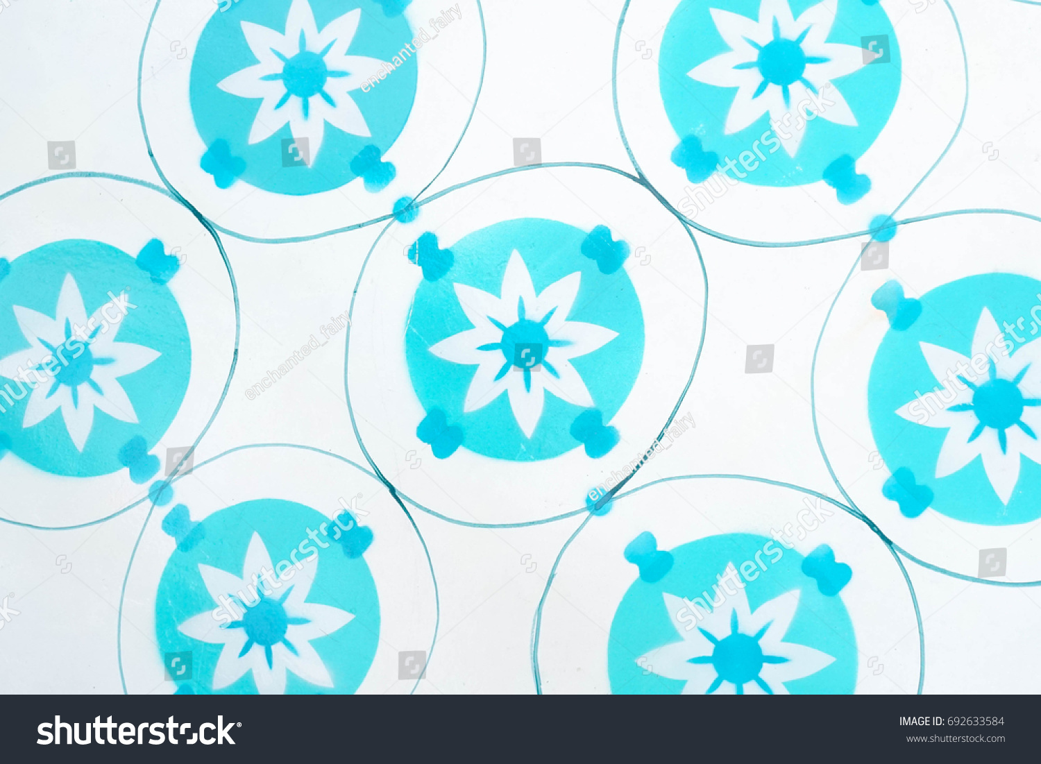 Closed pattern white aqua blue color stock photo 692633584 closed up pattern of white and aqua blue color on the floor tiles inspired by doublecrazyfo Gallery