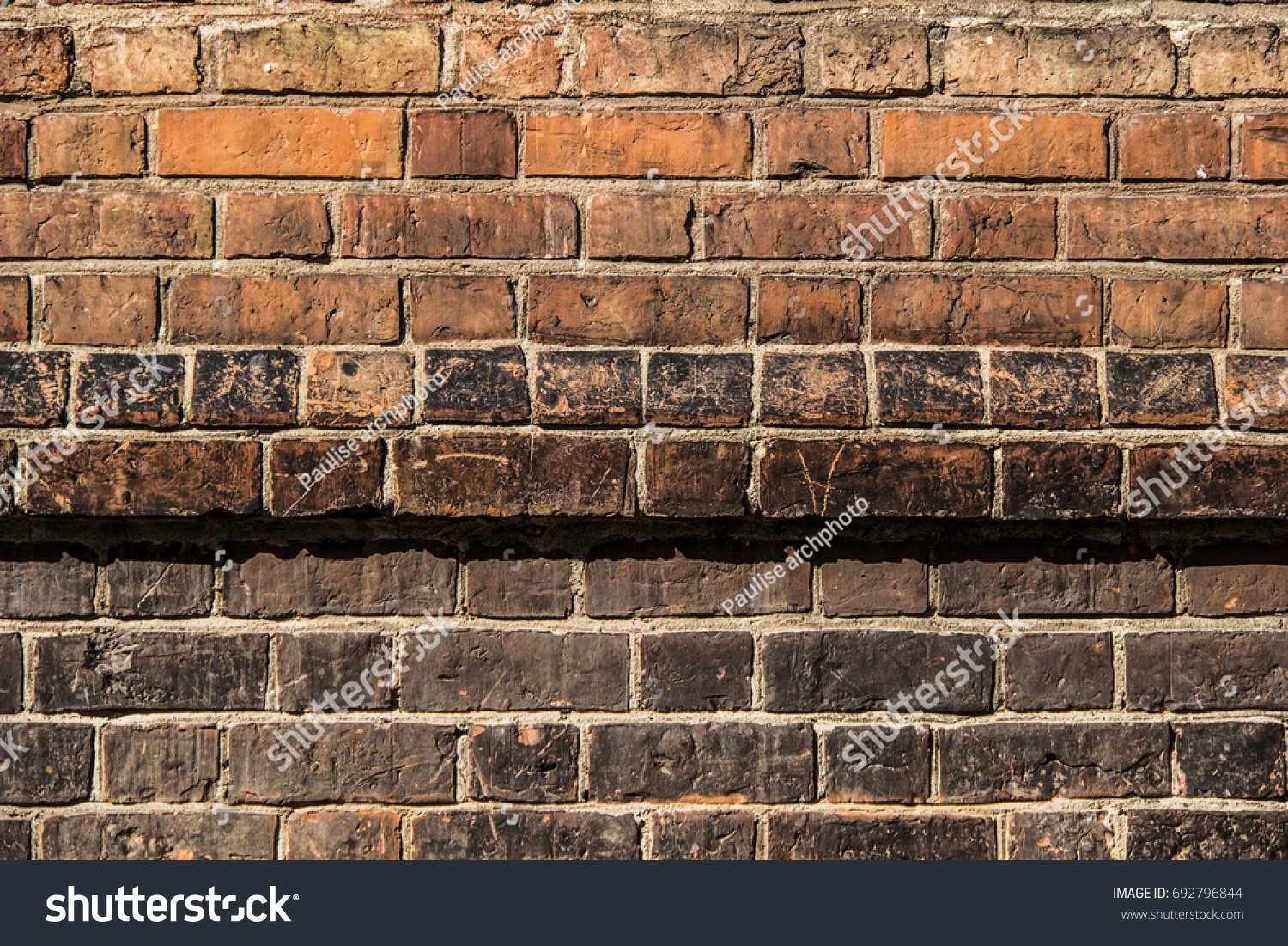 Old Gothic Brick Wall
