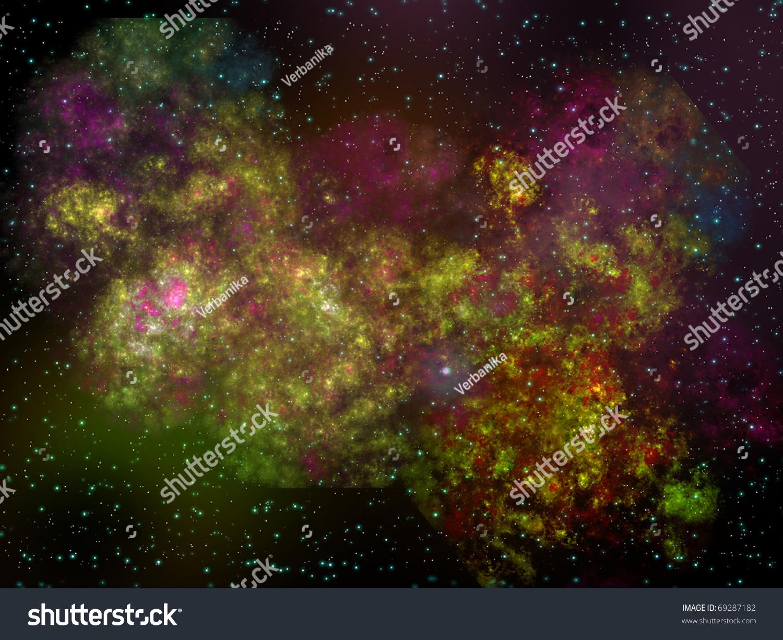 landscape space nebula - photo #47