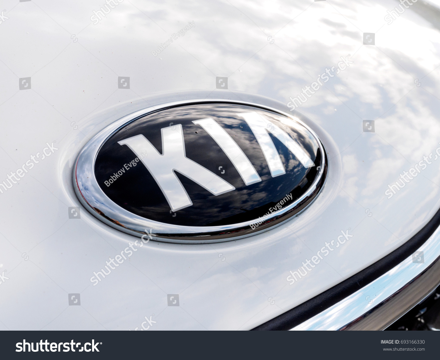 Chelyabinsk russia 07 august 2017 presentation stock photo 07 august 2017 presentation of the new model car kia biocorpaavc Image collections