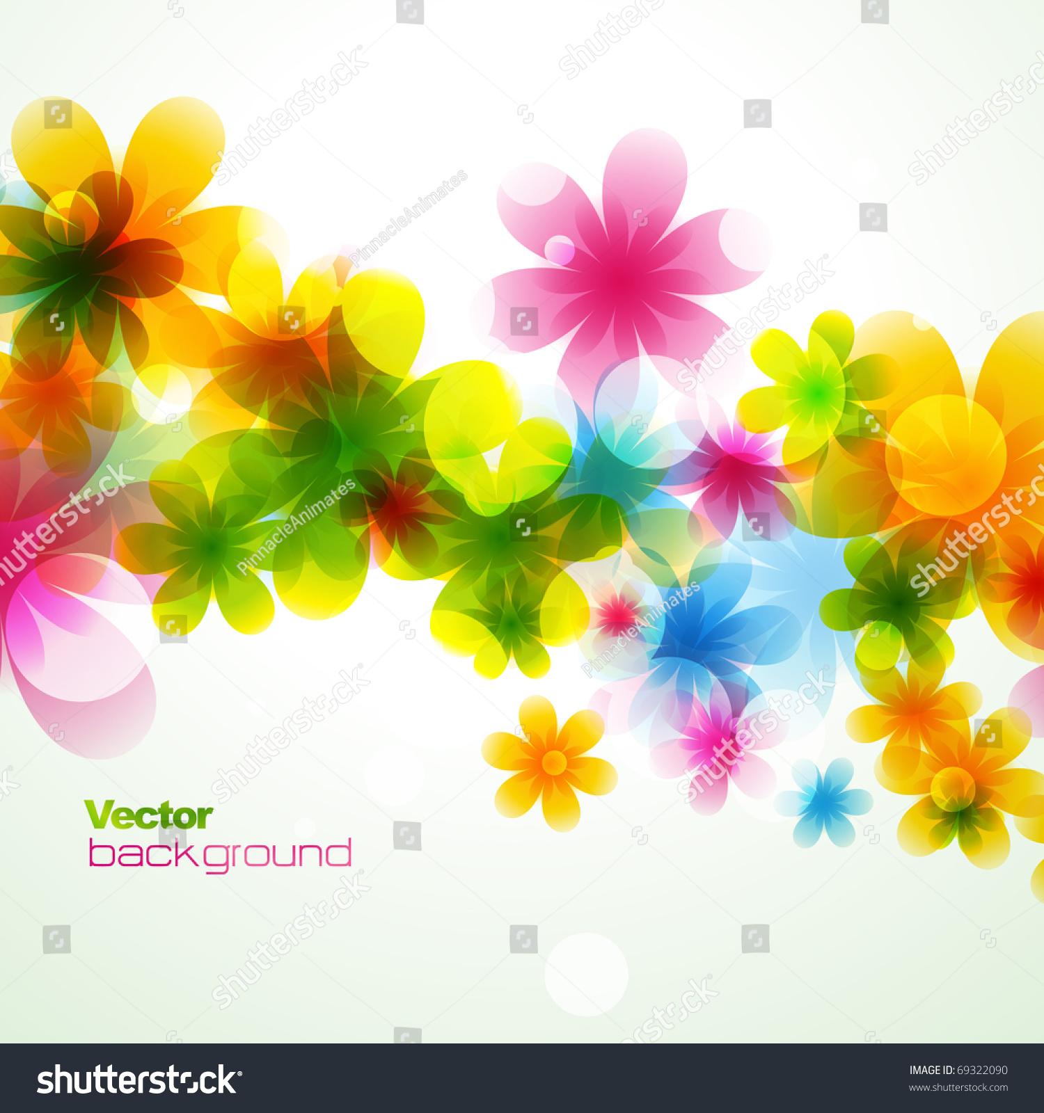 Vector beautiful flower background art stock vector royalty free vector beautiful flower background art izmirmasajfo