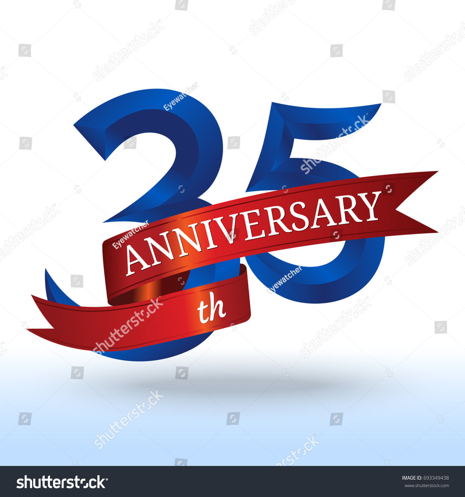 35th years anniversary symbol vector stock vector 693349438 35th years anniversary symbol vector biocorpaavc Choice Image