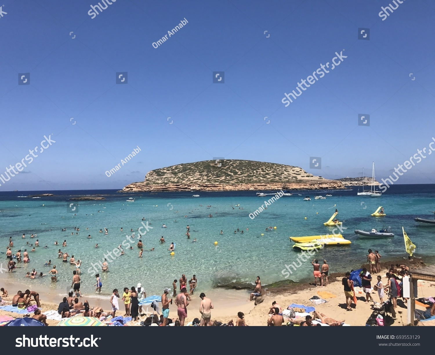 Cala Conte One Best Beaches On Stock Photo (Edit Now) 693553129