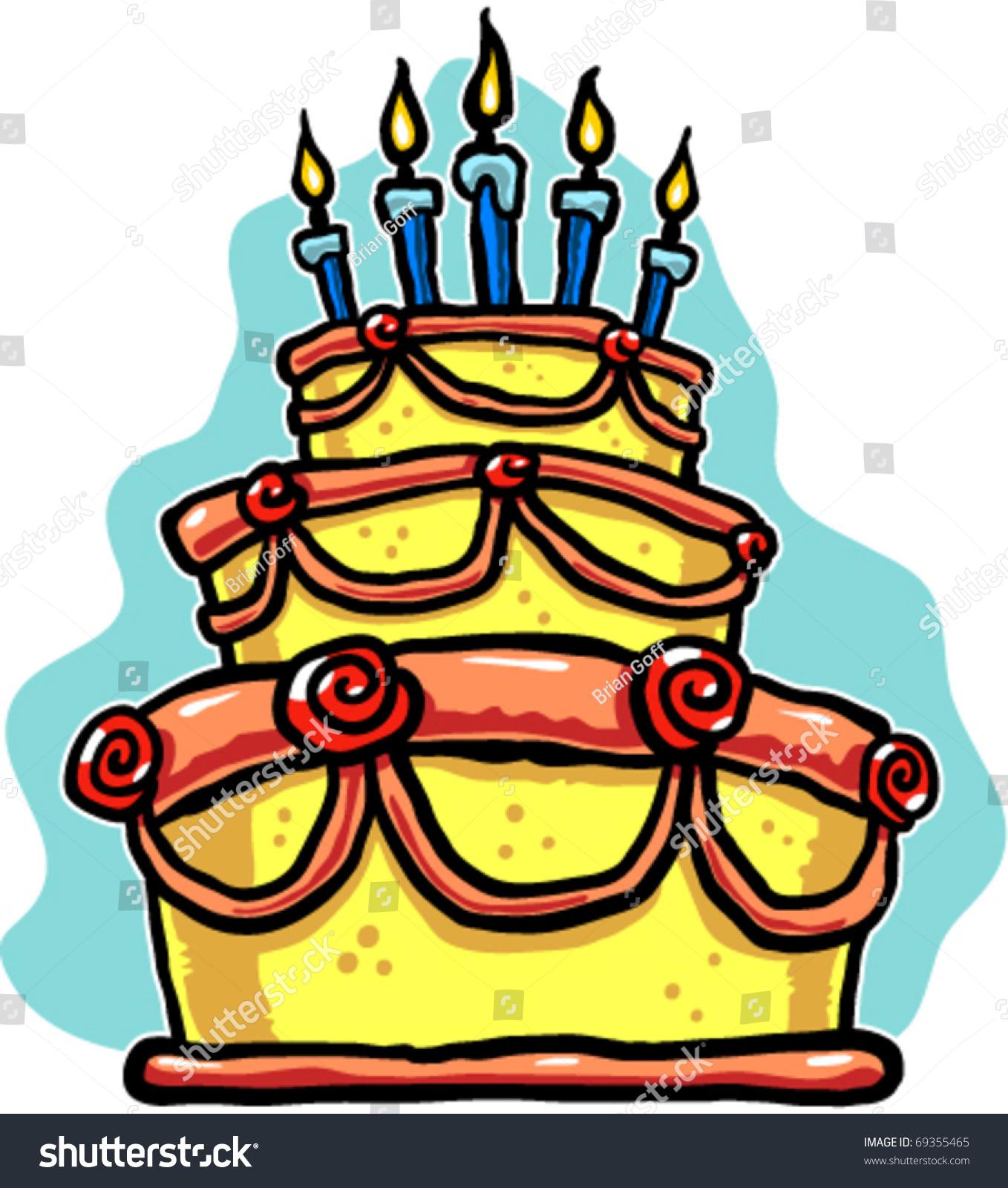 High Five Birthday Cake