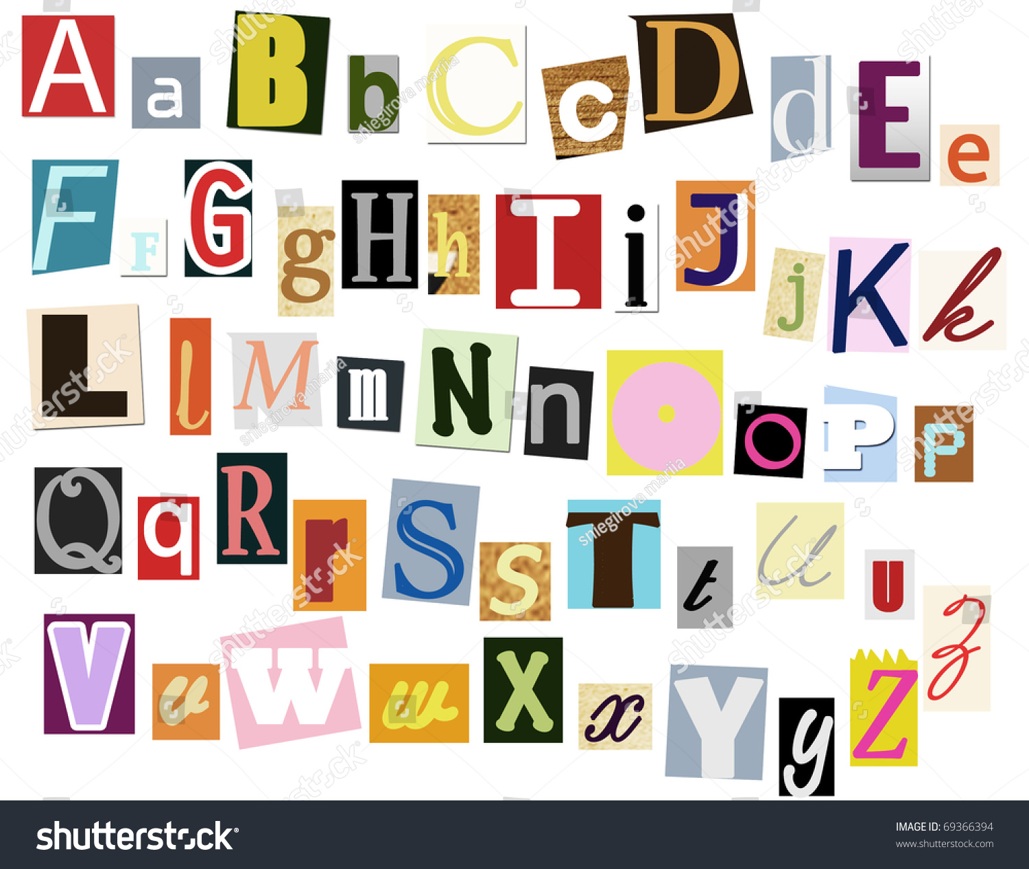 worksheet Letters In Alphabet colorful typography alphabet letters stock illustration 69366394 letters