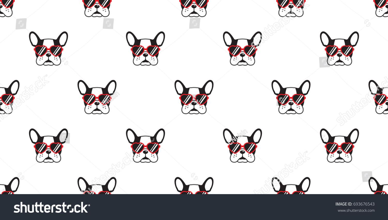 犬 フランスのブルドッグ ハートサングラス 眼鏡のアイコン