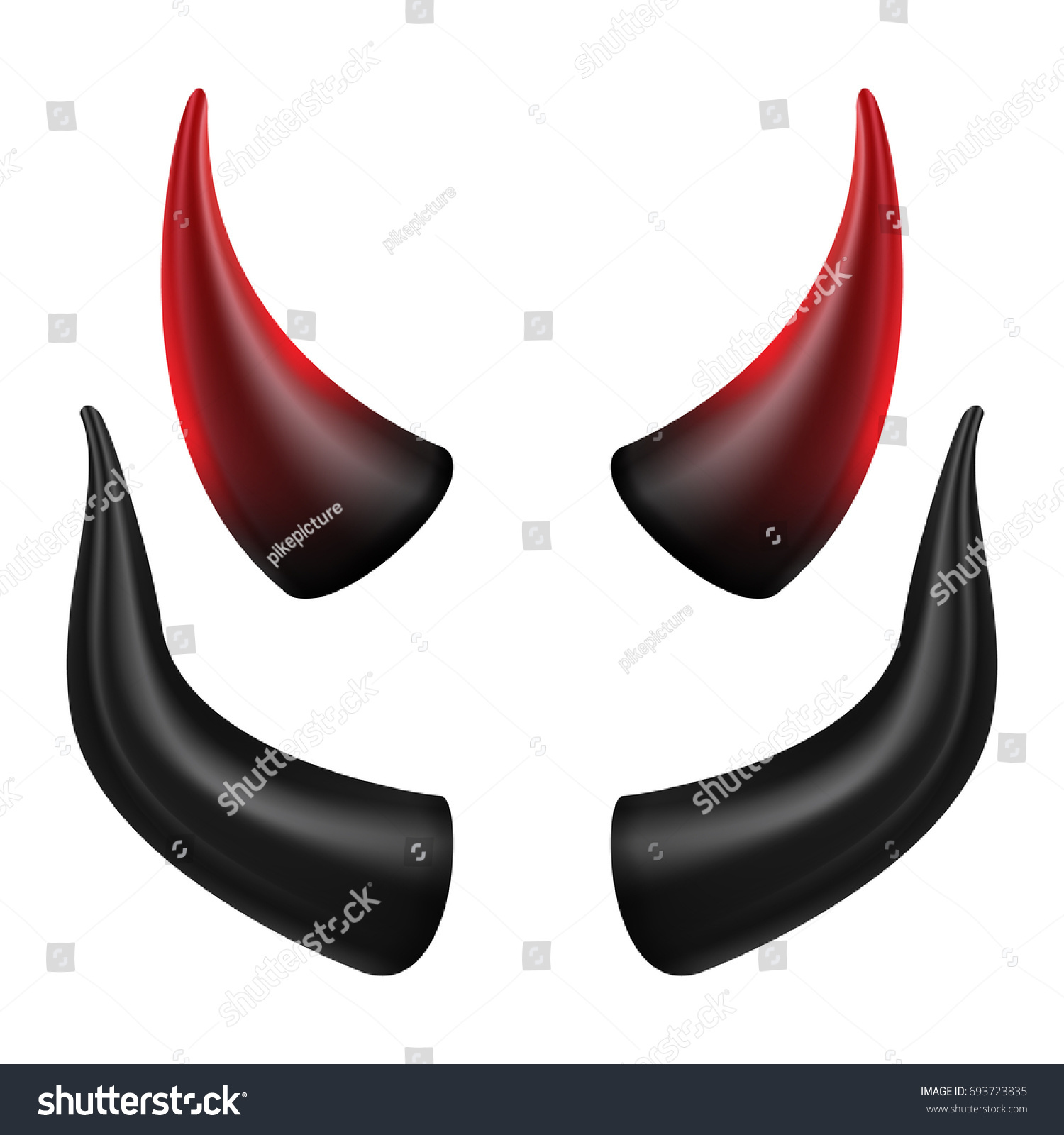 how to put devil horns on a photo
