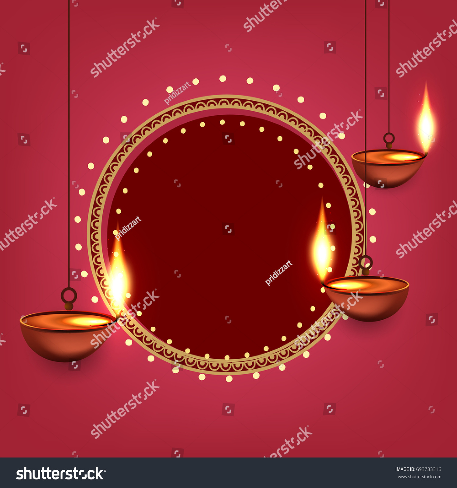 happy diwali wallpaper design template stock photo (photo, vector