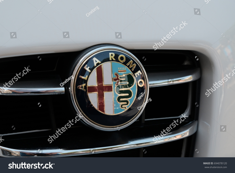 Rome Italy August 9 2017 Alfa Stock Photo Edit Now 694078120