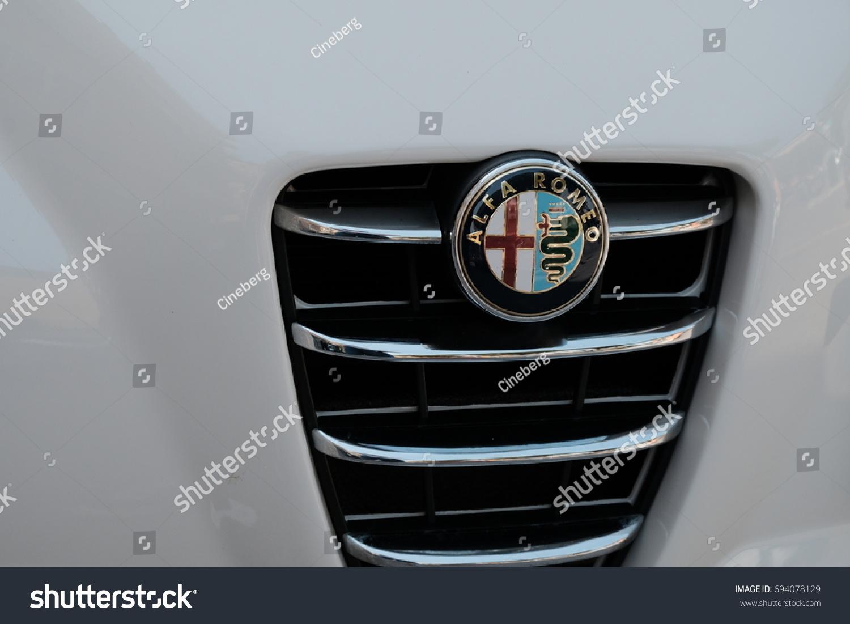 Rome Italy August 9 2017 Alfa Stock Photo Edit Now 694078129