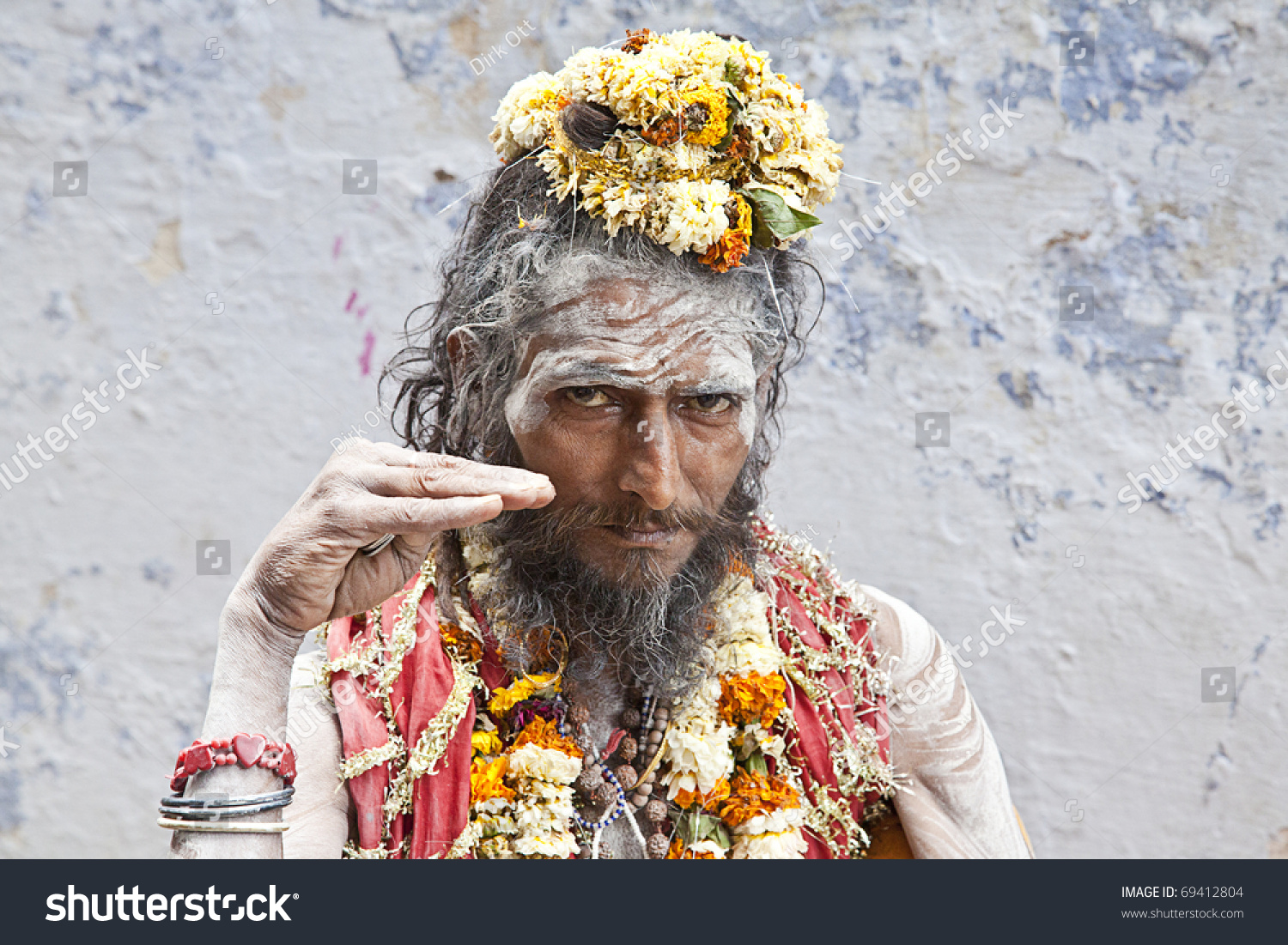 Sadhus Are Ascetic Practitioner Of Yoga And Or Wandering Monks Who Have Left