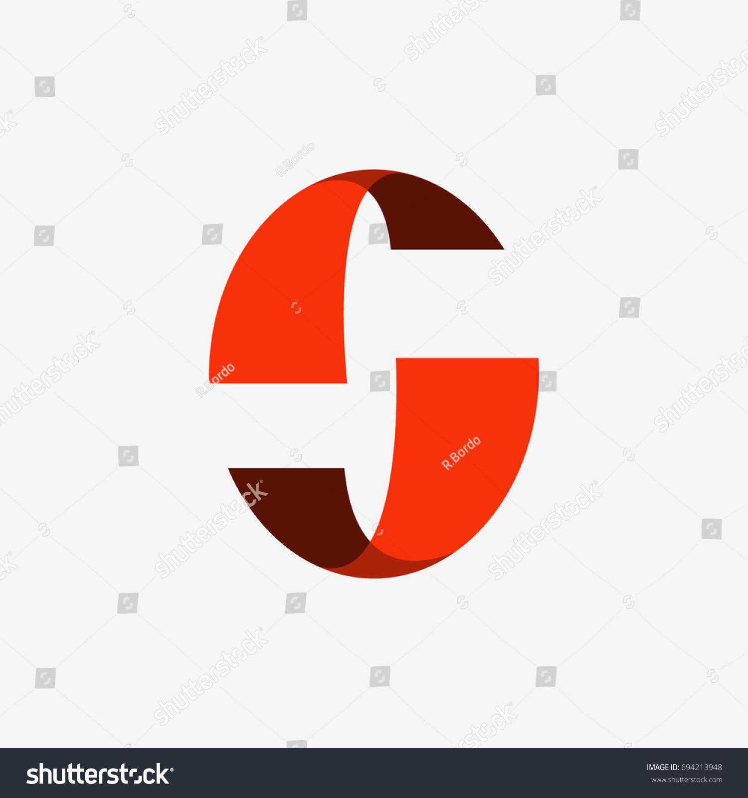 Letter c vector company logo futuristic stock vector 694213948 letter c vector company logo futuristic circle 3d concept symbol letter c monogram biocorpaavc Images
