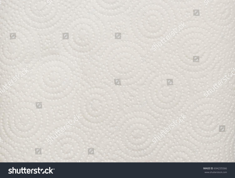 White Tissue Kitchen Towel Closeup Texture Stock Photo (Royalty Free ...