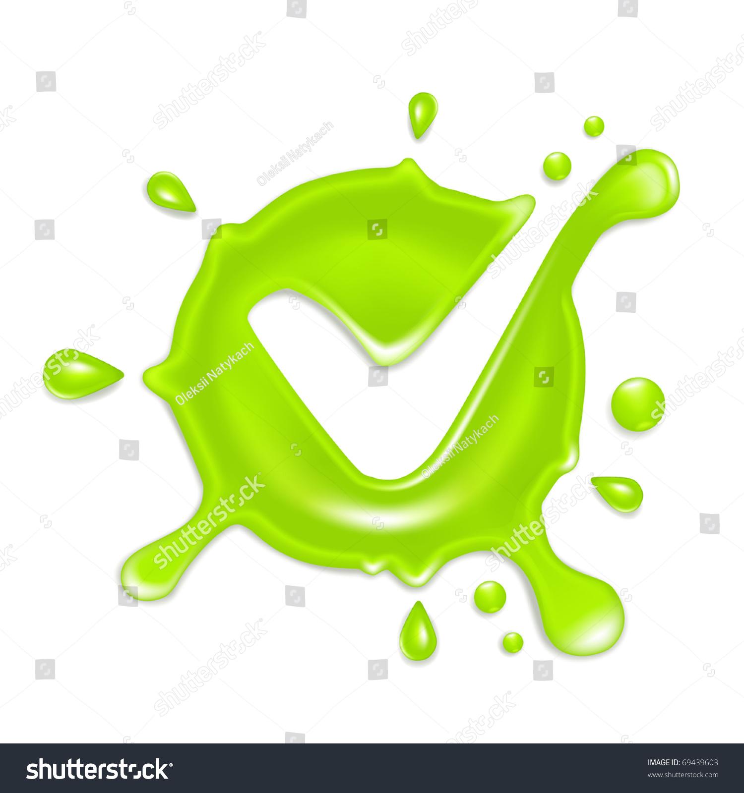 Green Check Mark Bitmap Copy Stock Illustration 69439603 Shutterstock