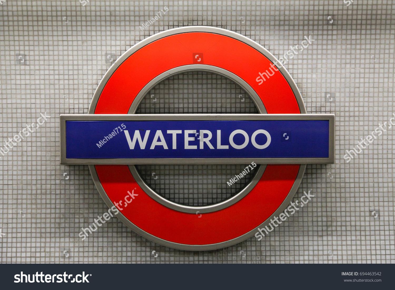 London England April 10 2015 Waterloo Stock Photo Edit Now