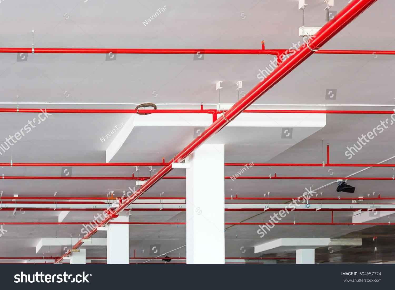 Ceiling sprinkler system avie
