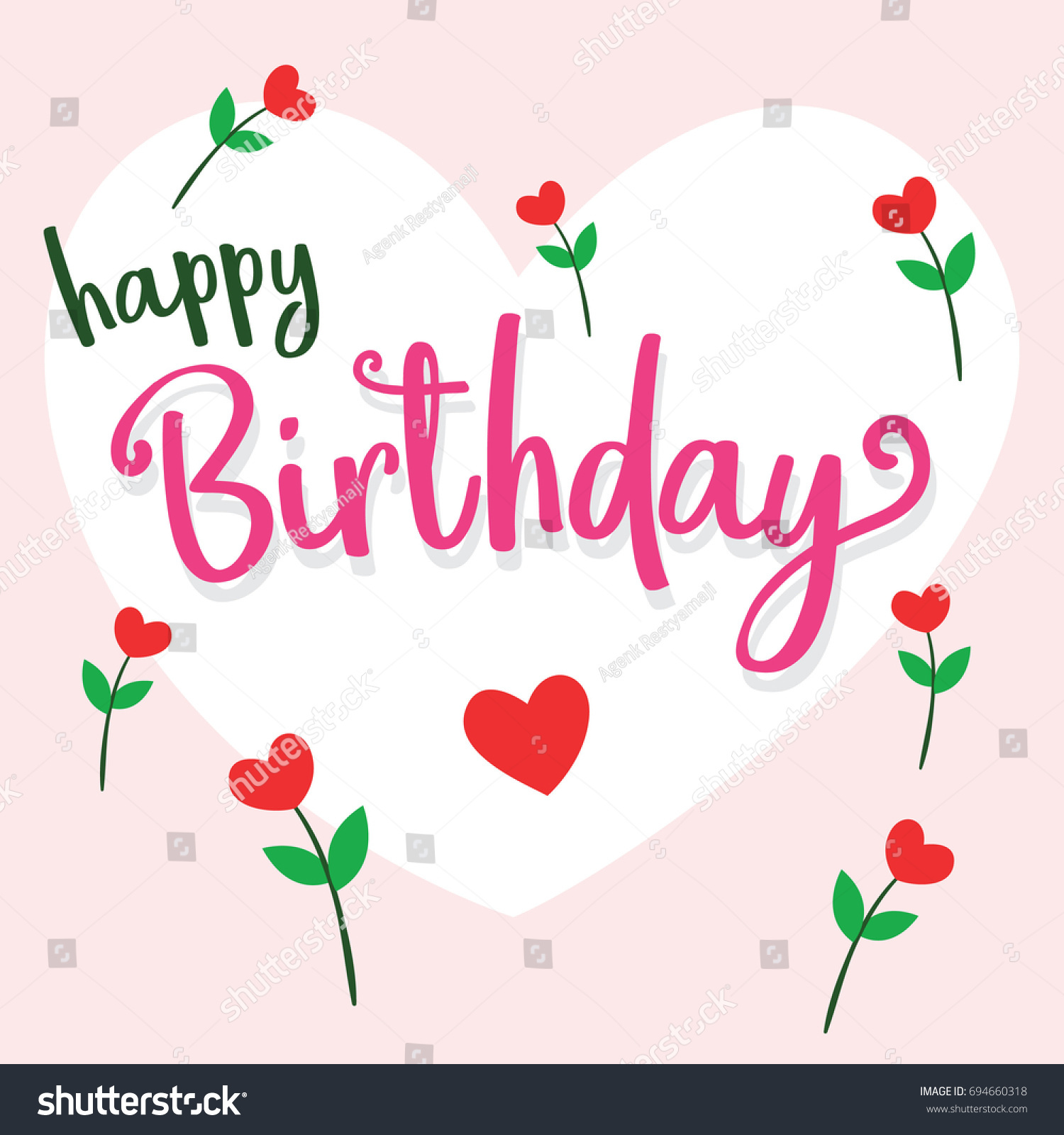 Happy birthday someone special stock vector 694660318 shutterstock happy birthday for someone special m4hsunfo
