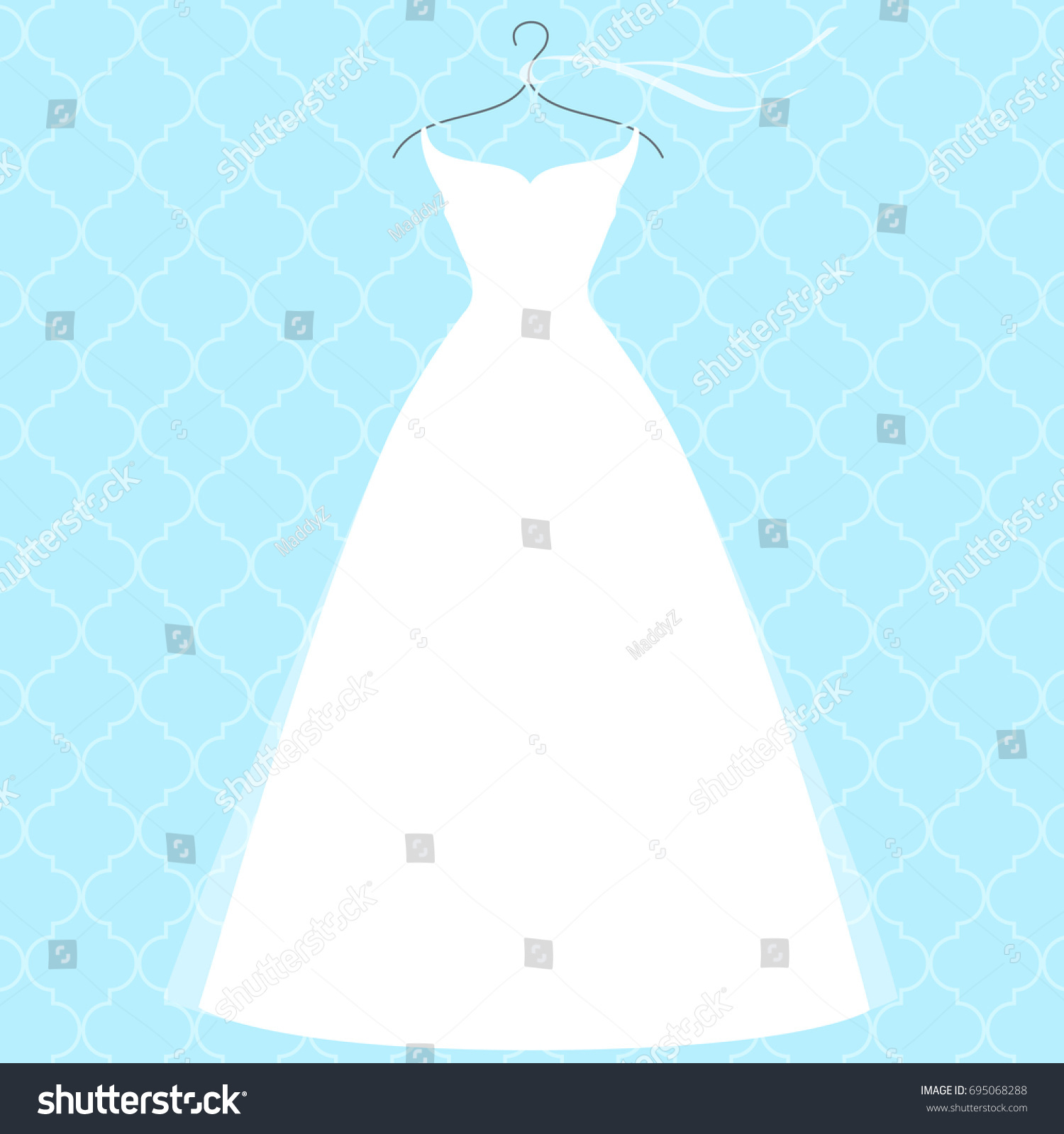 Fancy Bridal Gown Hangers Composition - All Wedding Dresses ...