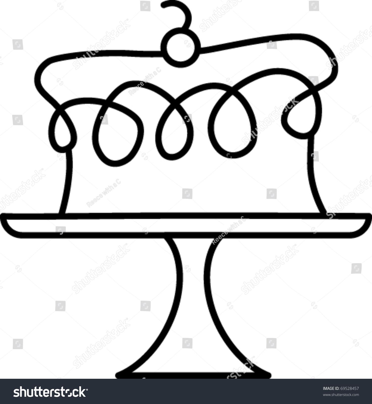 Birthday Cake Clipart Shutterstock