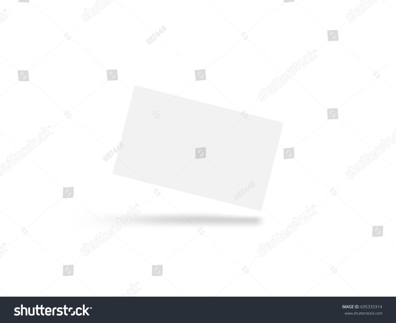 Blank business card stock vector 695333314 shutterstock colourmoves