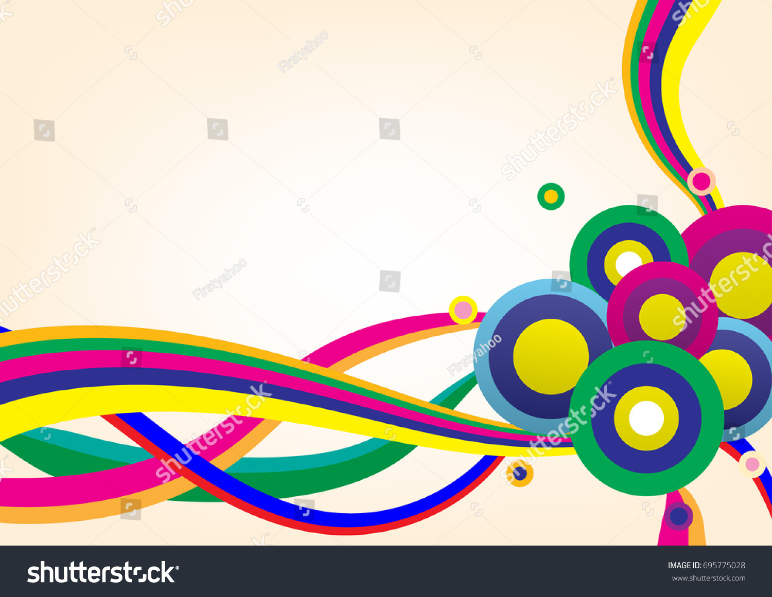 Abstract Backgrounds Can Be Used Wallpaper Stock Vector