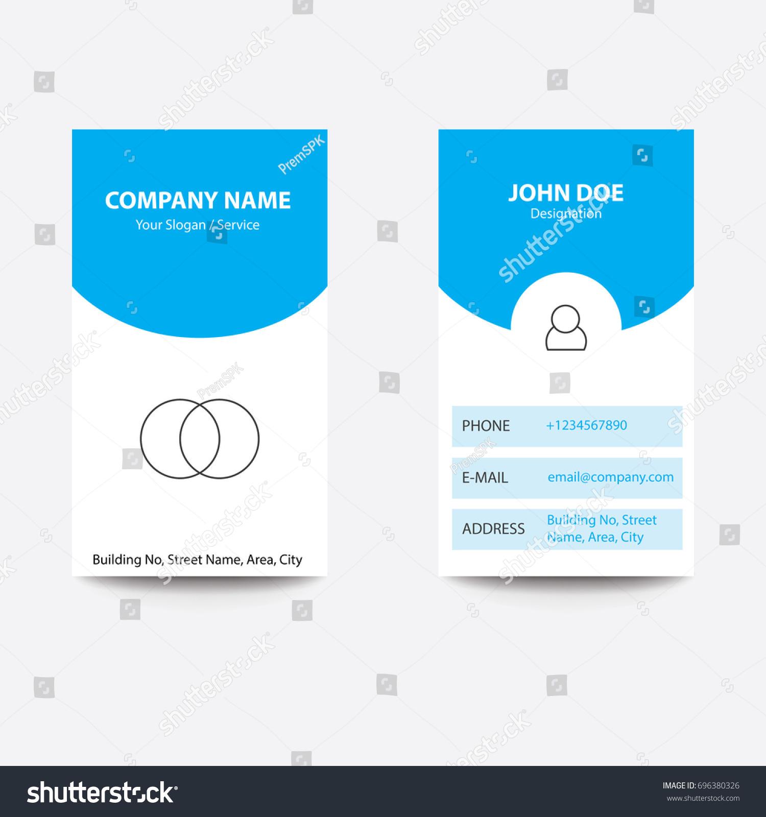 Modern concept app design business card stock vector royalty free modern concept app design business card app developer blue color reheart Image collections