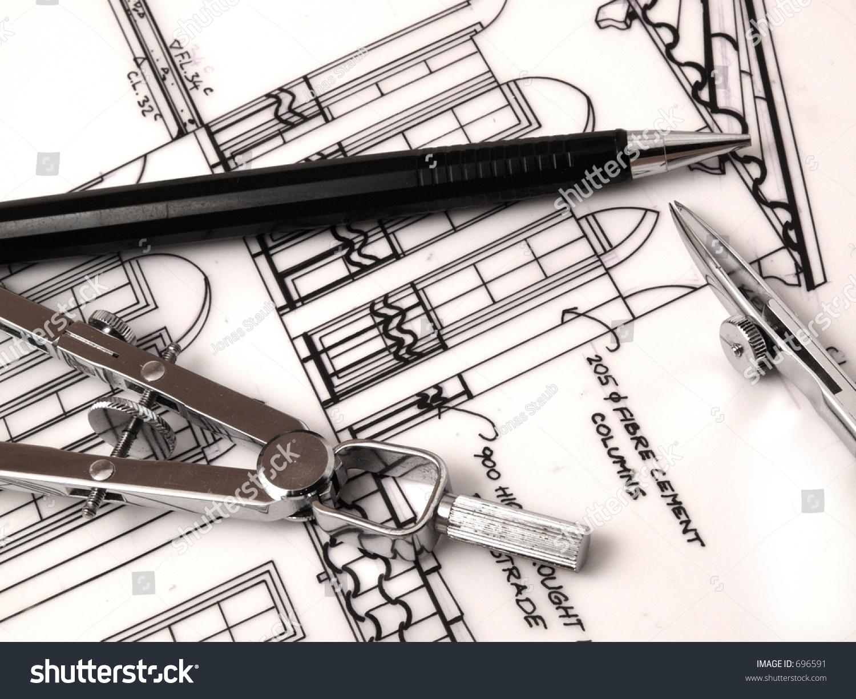 drafting tools stock photo 696591 shutterstock