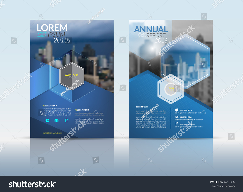 cover design template annual report cover のベクター画像素材