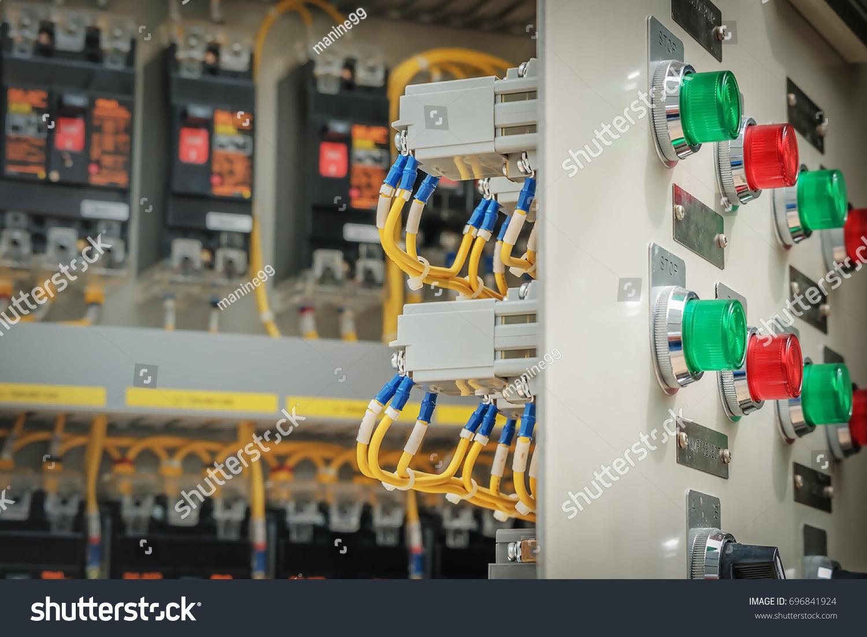 Circuit Breaker Panel Board Control Substation Stock Photo Edit Now 696841924