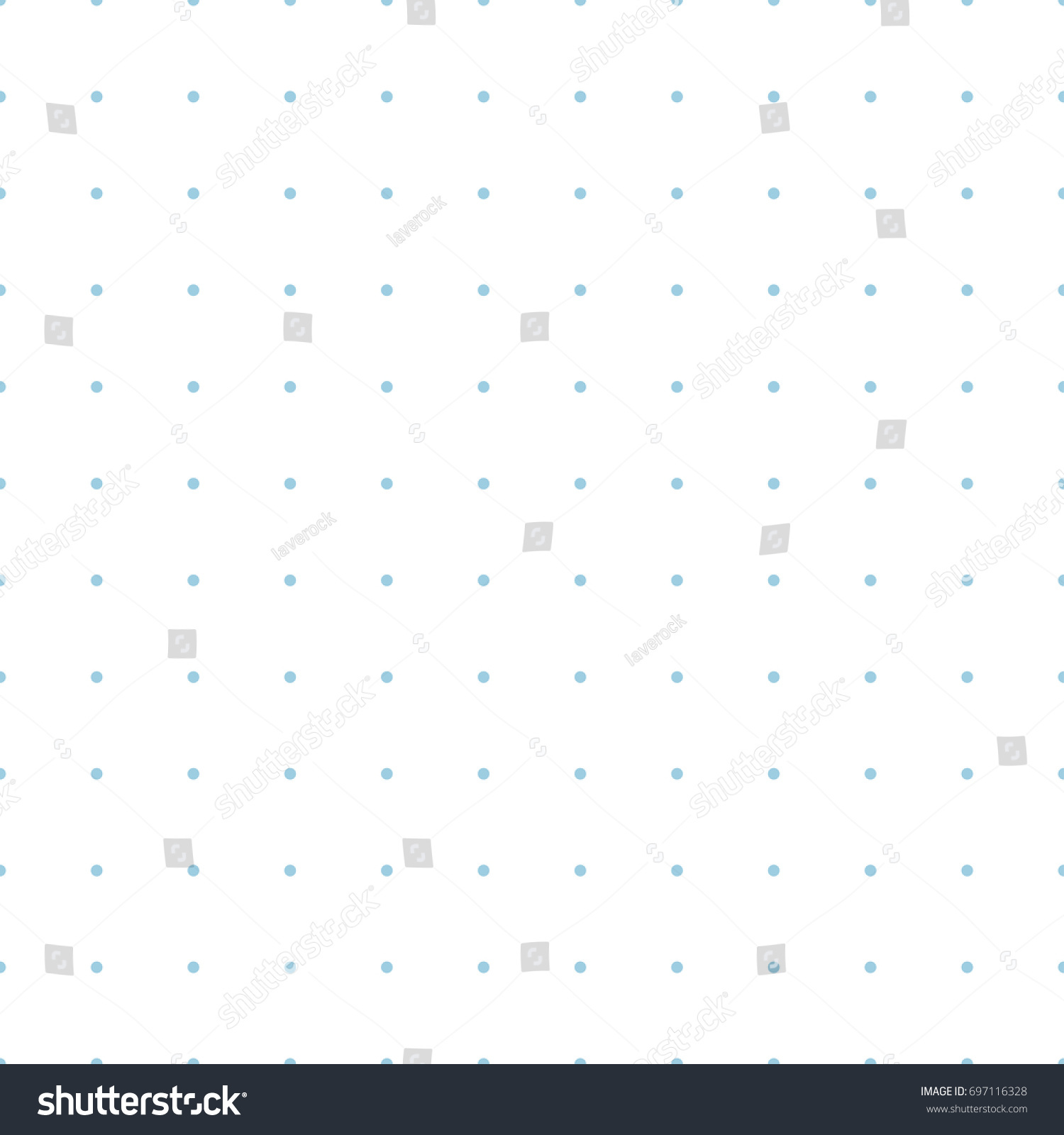 graphic about Printable Dot Paper for Bullet Journal known as Blue Dotted Grid Graph Paper Seamless Inventory Example