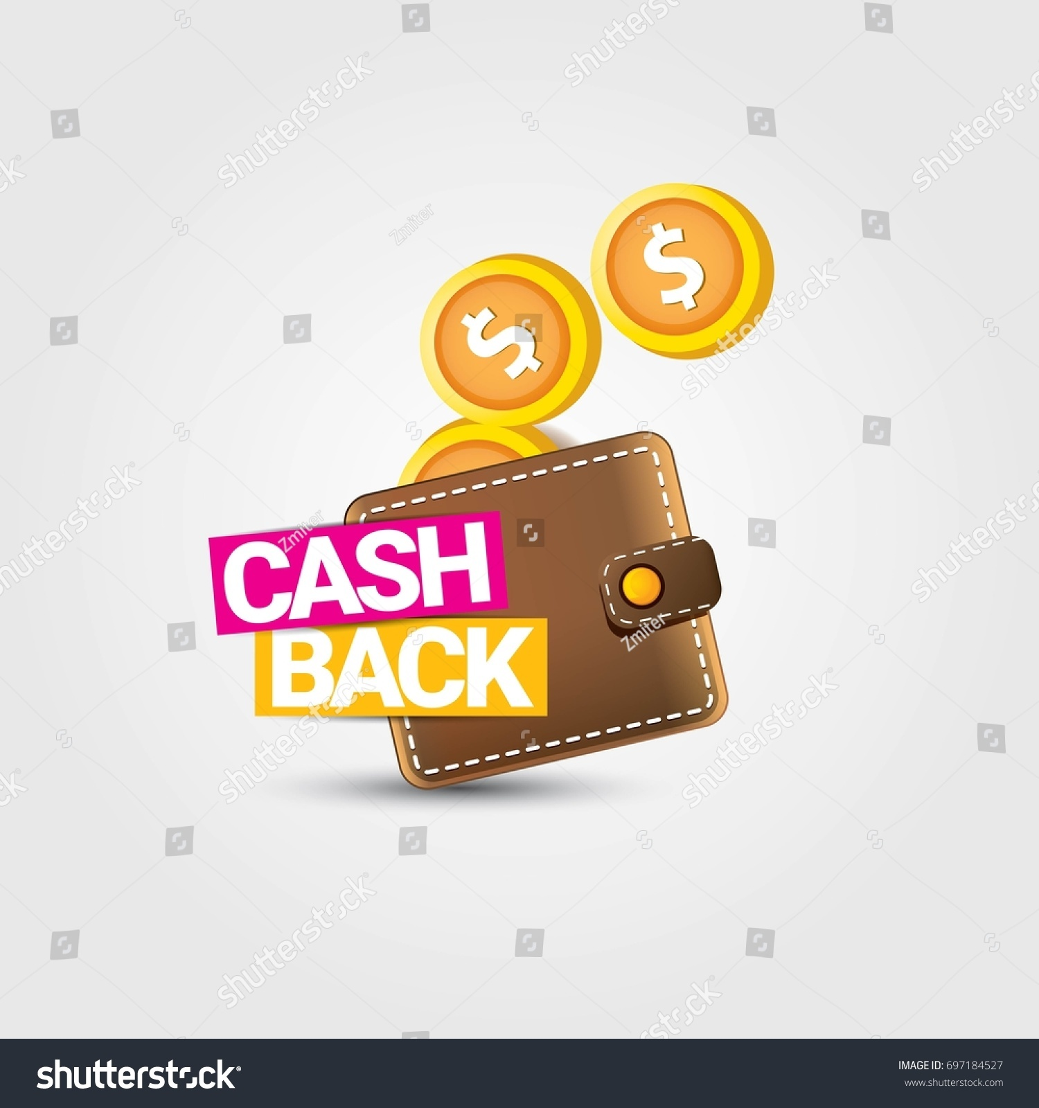 vector cash back icon golden coins stock vector royalty free 697184527 https www shutterstock com image vector vector cash back icon golden coins 697184527