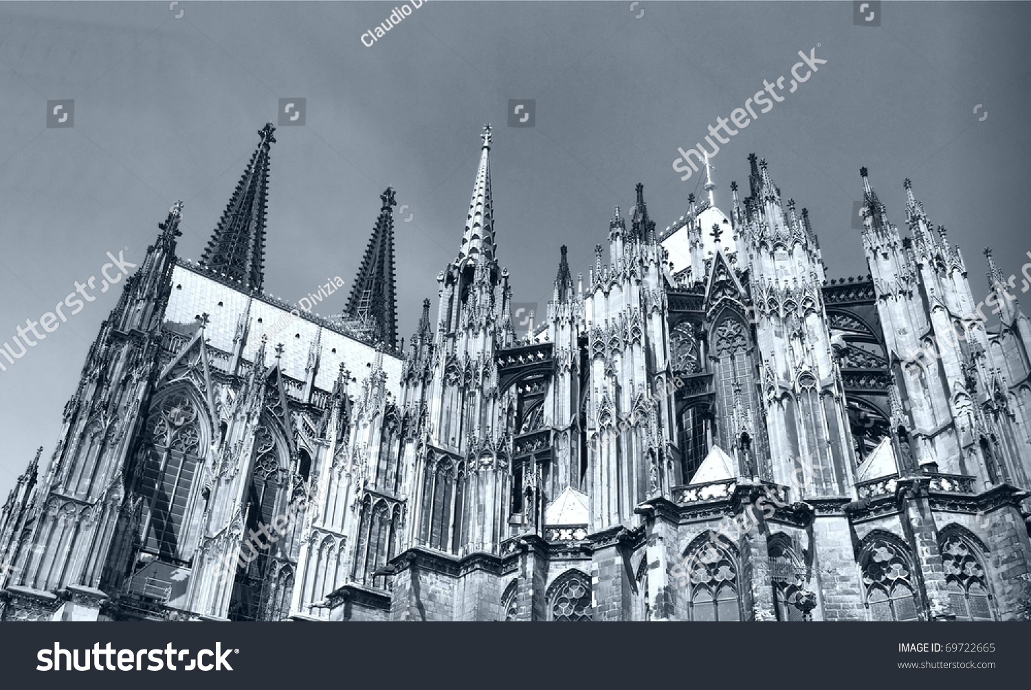 Koelner Dom Gothic Cathedral Church In Koeln Cologne Germany